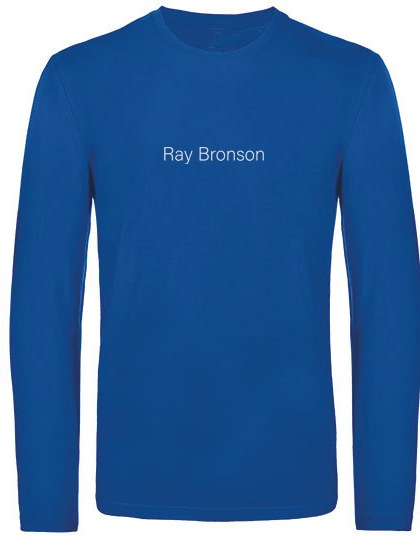 Ray Bronson warm long shirt planet blau
