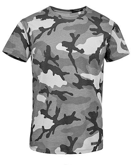 Ray Bronson outdoor t-shirt - camouflage