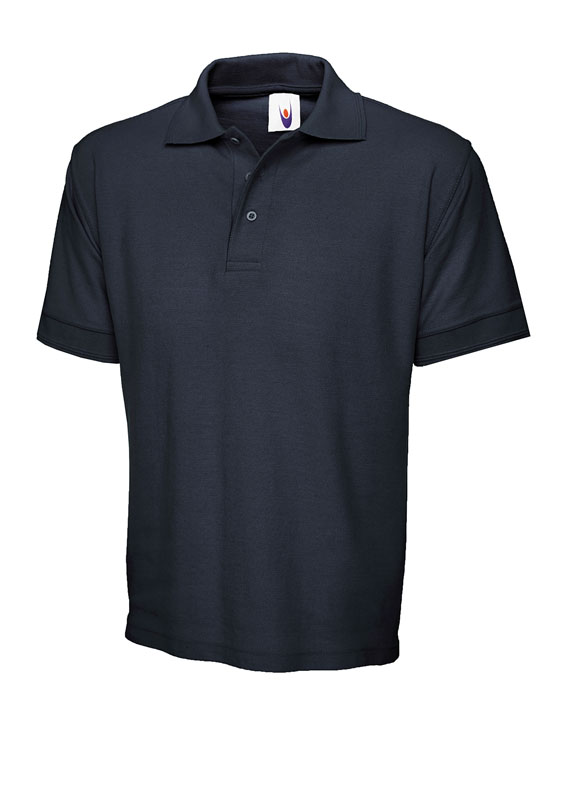 Ray Bronson Poloshirt Premium Navy blau