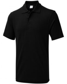 Ray Bronson Poloshirt every day in schwarz